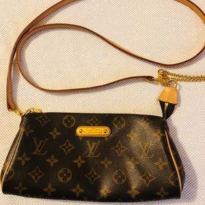 Louis Vuitton Eva Monogram Crossbody Clutch Bag